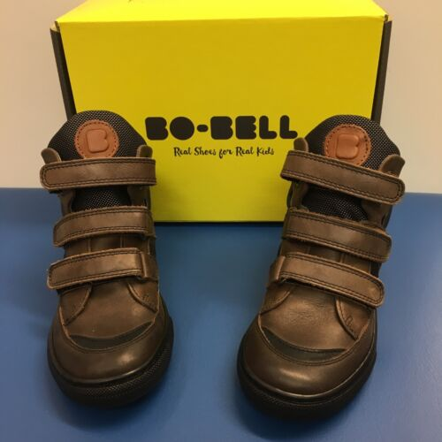 Bo-Bell I Dog Boys Boots in Brown Leather