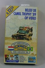 Camel Trophy video 10th anniversary the Amazon 1989 Rare item!