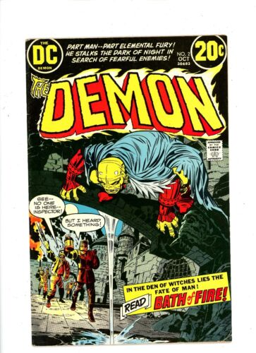"""BX52 FN//VF # 2 to # 4 U-Pick the issue 1972 DC Comics /""""The Demon/"""""""