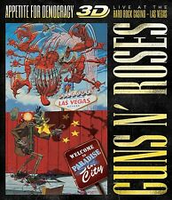 GUNS N' ROSES - APPETITE FOR DEMOCRACY: LIVE(LTD.BR+2CD-BOXSET)BLU-RAY + 2CD NEU