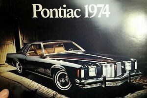 Pontiac-1974-Dealership-Car-advertisement-ad-Sales-Brochure
