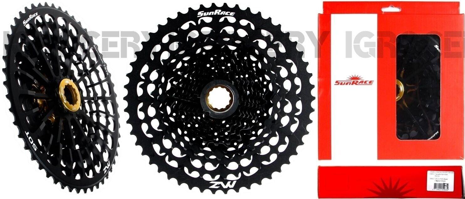 SunRace CSMZX 0 11-50T 12Spd Bicicleta de Montaña Bici Cassette para Shimano Sram freehubs 1pc Nuevo En Caja