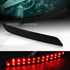 BMW 528I/535I/550I F10/F11/F18 SMOKE LENS LED REAR BUMPER REFLECTOR BRAKE LIGHTS
