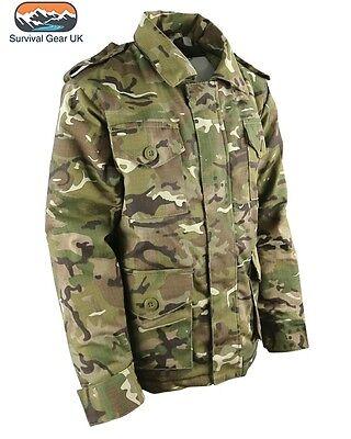 KOMBAT KIDS SAFARI JACKET BTP COTTON RIPSTOP DRESS UP ARMY PLAY 12-13 Years