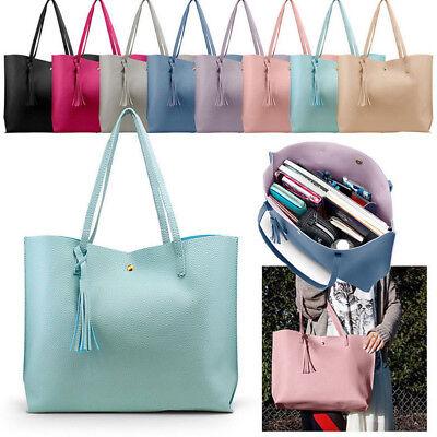 Women Leather Handbag Shoulder Lady Purse Messenger Satchel Crossbody Tote Bag G