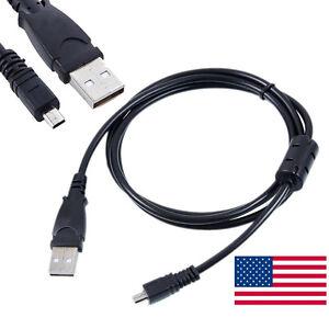 USB-Camera-Battery-Charger-Data-SYNC-Cable-For-Panasonic-Lumix-DMC-SZ3-DMC-ZS40