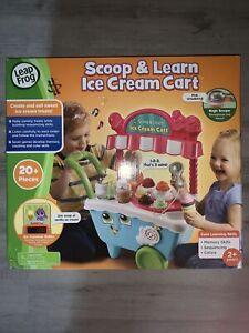 NEW LeapFrog Scoop /& Learn Ice Cream Cart
