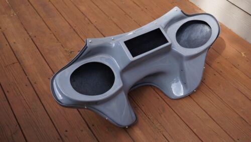 Harley Davidson Road King motorcycle fairing fiberglass batwing 6x9 speaker Grey