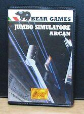 JUMBO SIMULATORE + ARCAN - MSX - BEAR GAMES - NUOVO NEW OLD STOCK - 1985 Vintage