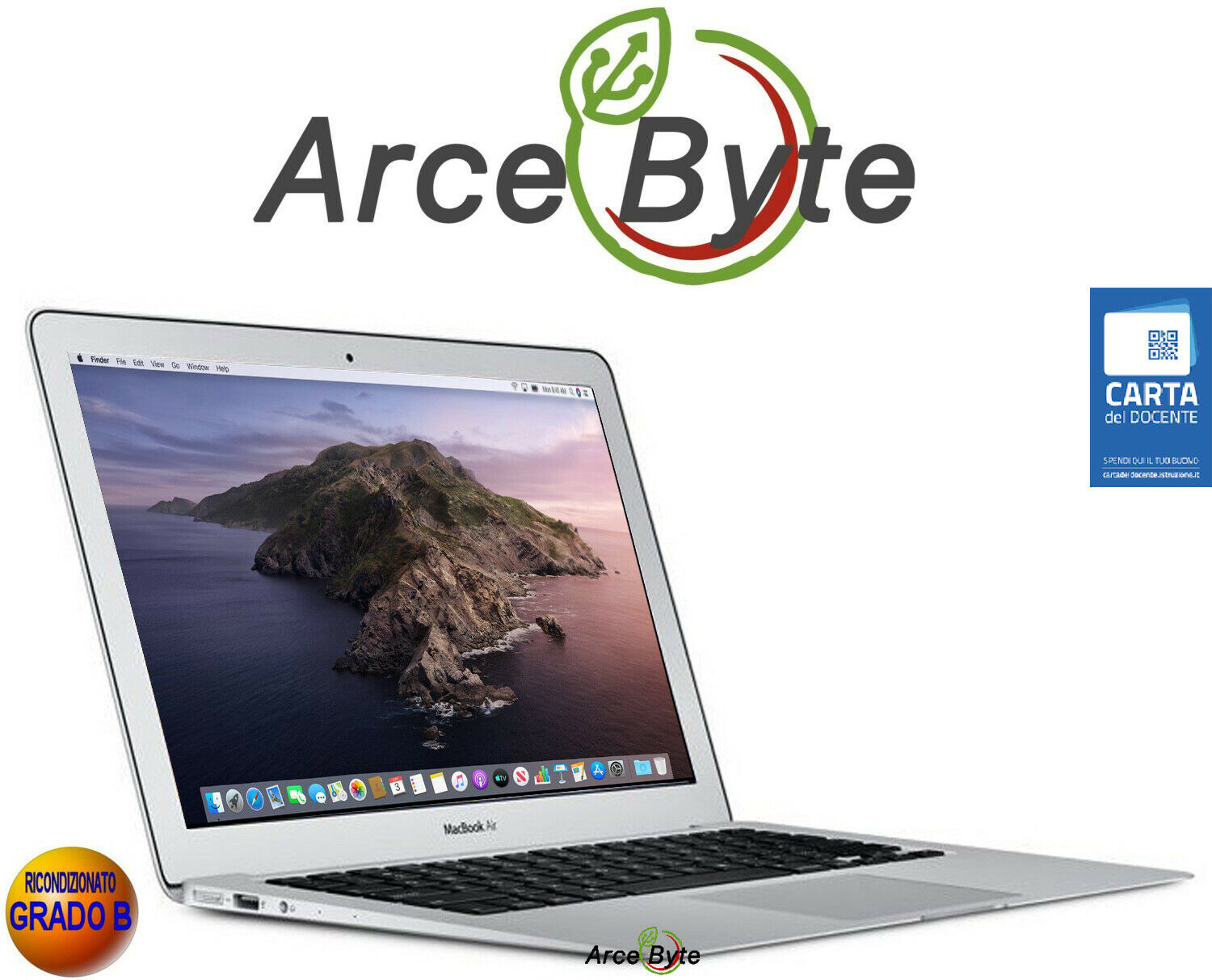 "macbook: APPLE MACBOOK AIR 11"" CORE i5 1,4Ghz FATTURABILE BIG SUR SSD GRADO B 2014"