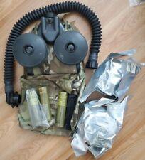 Msa C420 Papr Unit Powered Air Purifying Respirator Cbrn Nato Gas Mask Compatib