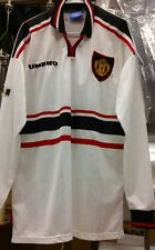 Original 1999 Umbro Manchester united Player Issue long sleeve Jersey Mint