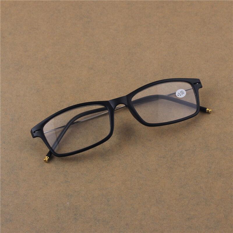 NEW High quality Rectangle Unisex Black Frame Reading ...