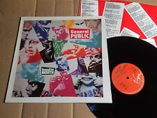 GENERAL PUBLIC - HAND TO MOUTH - LP - VIRGIN 207 995-630 - EUROPE 1986 (DI1194)