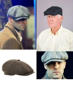 Baker-Boy-Hat-Cap-Peaky-Blinders-Newsboy-Herringbone-Flat-Cap
