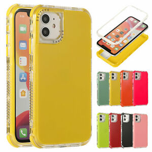 Case For Apple iPhone 13 11 12 13 Pro Max 8 7 SE2 Shockproof Hybrid Bumper Cover