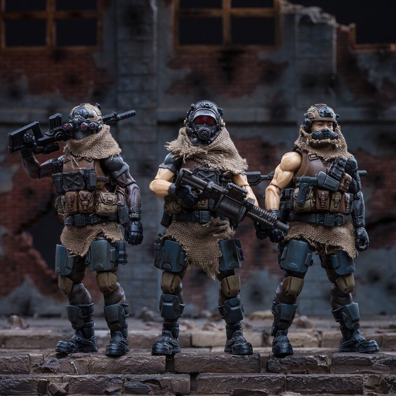 Joytoy west asiatischer söldner legion 1   18 velt   simon   ramaz action figure set