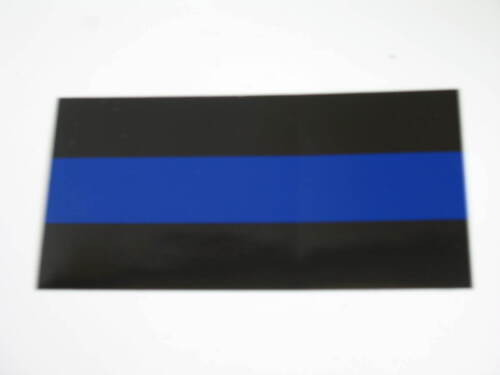 """Wholesale Lot of 6 Police Thin Blue Line Decal Bumper Sticker 3.75/""""x7.5/"""""""