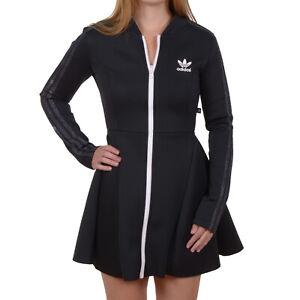 Dettagli su Adidas Originals Mystic Moon Tee Vestito ora Rita Neophren Abito Nero AA3863