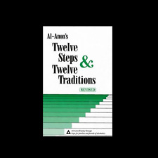 Al-Anon's Twelve Steps and 12 Traditions Hardcover book FREE SHIP addiction