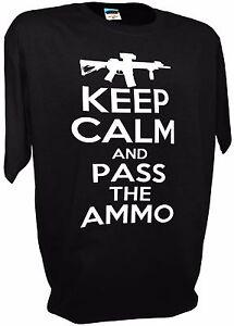 gun t shirt 2nd admendment funny mens shirt ar15 ak47 rifle pistol ammo can new