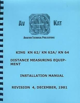 KING KN 62// KN62A// KN64 DME INSTALLATION MANUAL