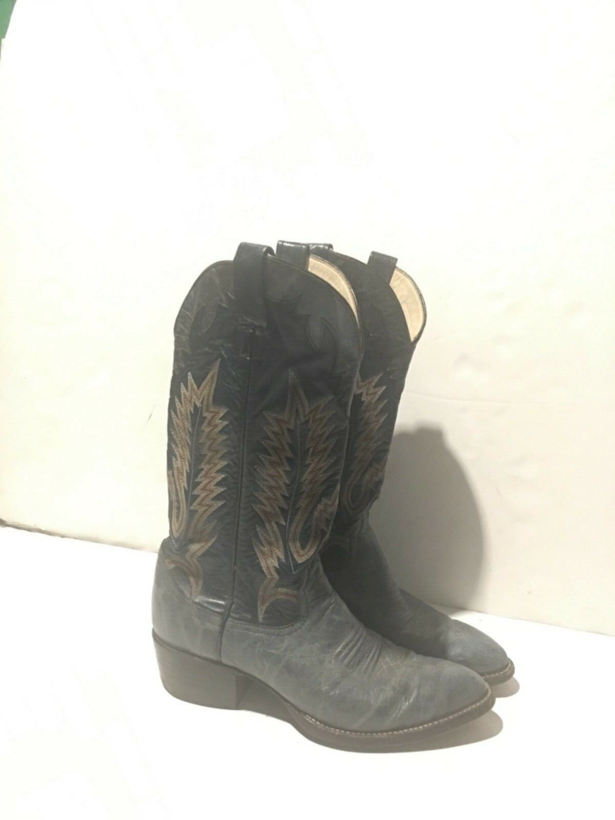 Larry Mahan Cowboy western Boots size 9