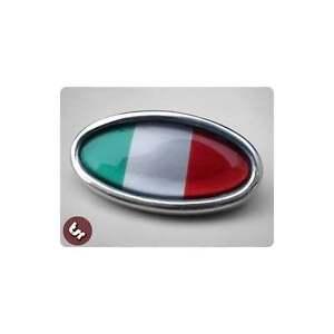 LAMBRETTA TSR Ally Horncast/Horn Cover Badge GP Italy Italian Flag Italia
