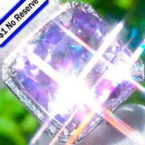 Kunzite-Ring-14K-GOLD-41-20ct-Diamond-ESTATE-Vintage-Cocktail-PINK-KUNZITE-Ring