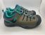 Air-Walk-Buckley-Hiker-Boys-Shoes-Light-Brown-Turquoise-Blue-rugged miniature 3