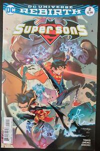 SUPER-SONS-2a-2017-DC-Universe-Comics-VF-NM-Book