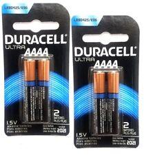 Duracell Ultra Photo 1.5 Volt AAAA Batteries Pack 0f 2 Batteries