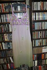 Anna Piaa Neiman Marcus Silk Gown Lavender Embr. Ombre Ladies sz 2  (bin82)