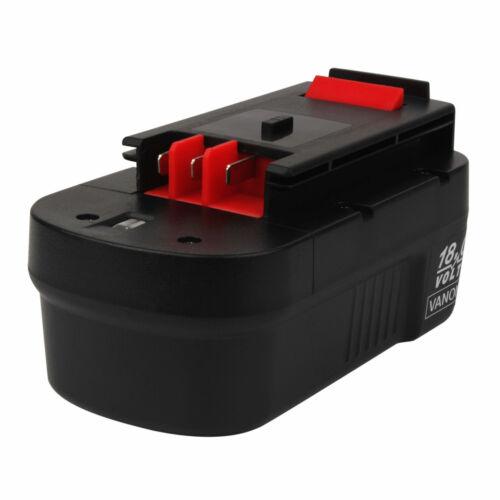 18V 3000mAh Ni-MH HPB18 AKKU für Black /& Decker HPB18-OPE 244760-00 FSB18 A18
