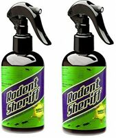 Rodent Sheriff - Get Rid Of Rats And Mice Easily - Set Of 2 Spray Bottles No Tax on sale