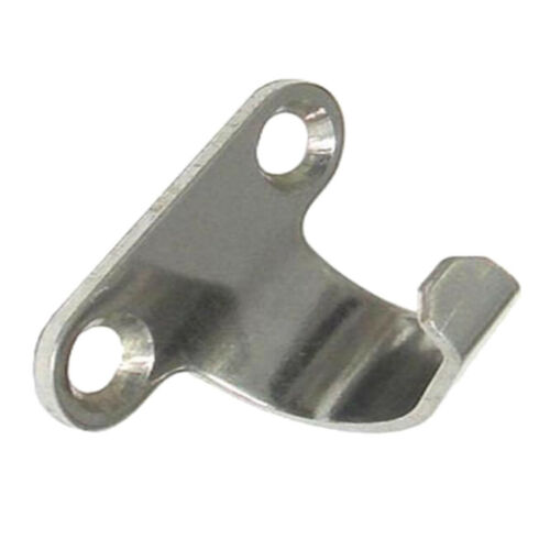 Marine 304 Stainless Steel Side Mount Lashing Hooks Universal Fit for Boat