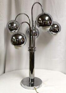 Vintage-MidCentury-Modern-Chrome-Eyeball-Table-Lamp-attrib-to-Robert-Sonneman