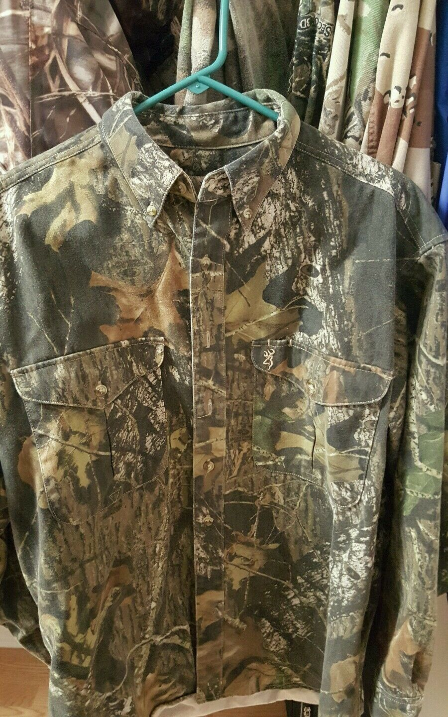 BROWNING contego long  sleeve shirt large  manufacturers direct supply