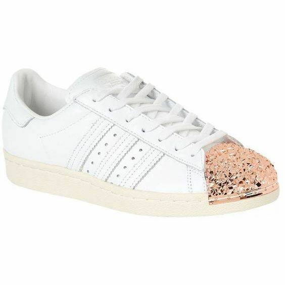 ADIDAS X superstar metal pink gold shell toe leather sneakers shoes 10.5 men