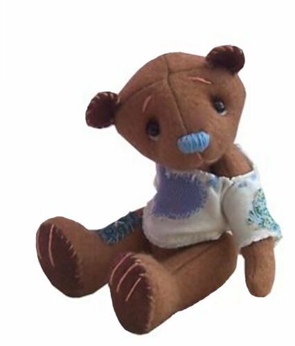 Felt soft toy sewing kits by pcbangles Dragon Mouse Teddy bear or all three