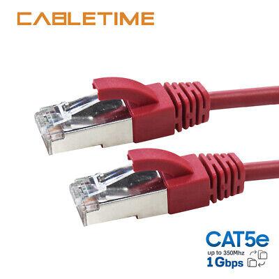 New Cat5 CAT5e Rj45 Ethernet Internet LAN Network Patch Cable Cord Modem Router