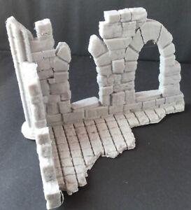 Wargames Scenery Terrain  Frostgrave Gloomstone Ruin 4