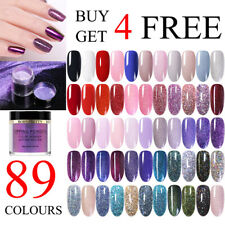 BORN PRETTY Glitter Holographicss Dipping Powder Chameleon Acrylic Tips Nail Art
