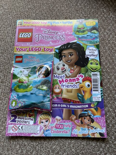 Lego Elves Magazine Issue 6 Both Poly Bags On Magazine Included.