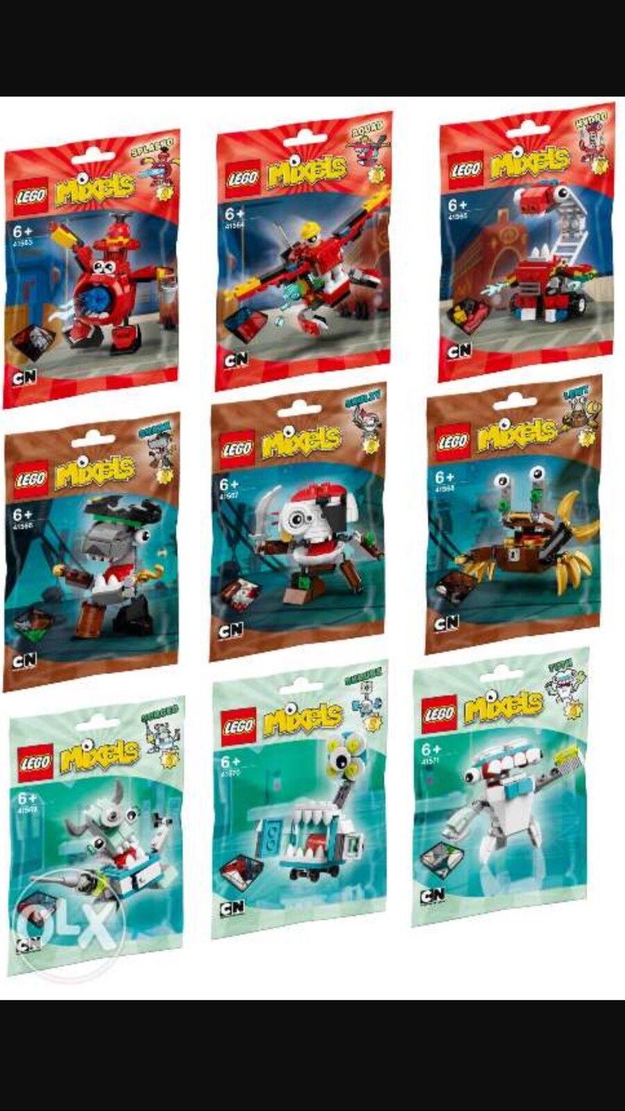 Lego Mixels serie 8 Set completo