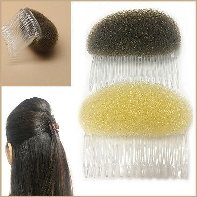 Kraftvoll Hair Bun Puff Bump Magic 8 Cm Shaper Foam Comb Slide Fashion Styler Holder Braid