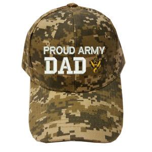 f70df97cf60 DIGITAL CAMO CAMOUFLAGE PROUD ARMY DAD LOGO U.S. ARMY DAD MILITARY ...