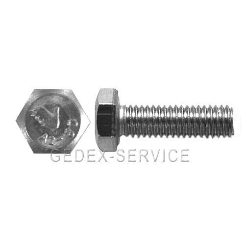 Sechskantschrauben DIN 933  M2,5 x  Längen 3 bis 20  mm EDELSTAHL A2 rostfrei