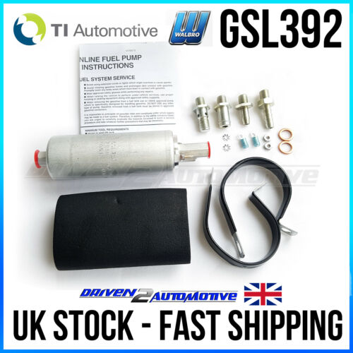 NEW WALBRO GSL392 300 LPH AUTHENTIC EXTERNAL FUEL INJECTION UPGRADE PUMP NEW