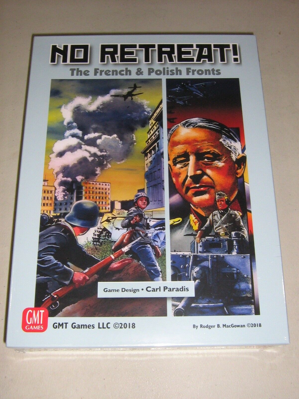 No Retreat  The French & Polish Fronts (New)